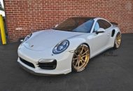 adv1 wheels 991 turbo pirelli tire letters gold bronze racing c 4 190x130 Porsche 991 Turbo S auf 21 Zoll ADV5.2 Mattbronze Alu's