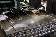 carbon fiber 1970 dodge charger with debut at sema 2015 1 12 190x127 Carbon Monster   1970er Dodge Charger Partnerprojekt