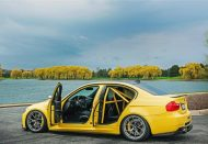 iND Distribution BMW E90 M3 Yellow Tuning 1 190x131 Mal was anderes   BMW E90 M3 in Gelb by iND Distribution