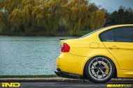 iND Distribution BMW E90 M3 Yellow Tuning 19 190x127 Mal was anderes   BMW E90 M3 in Gelb by iND Distribution
