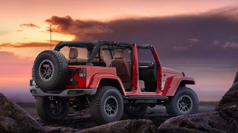 jeep wrangler red rock concept 2015 sema show 4 SEMA 2015: Jeep Wrangler Red Rock Concept