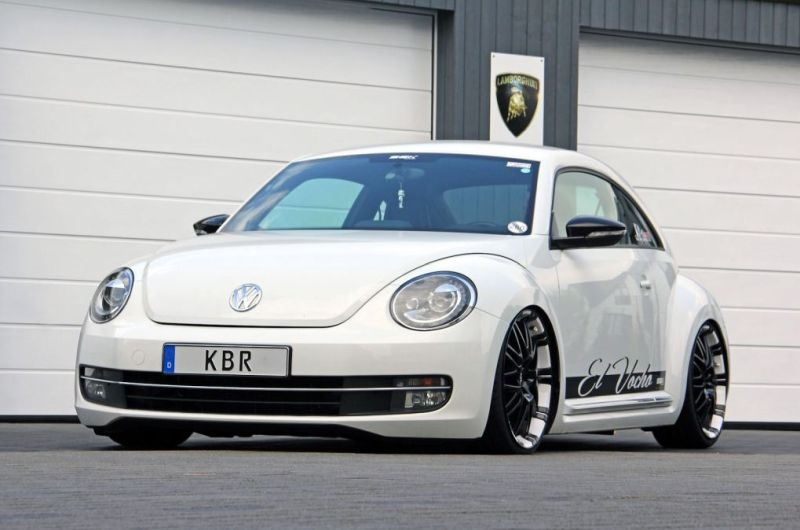 kbr motorsport new beetle weiß 1 Mächtig Sound & Optik im KBR Motorsport VW Beetle