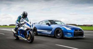 video 1 200ps litchfield nissan 310x165 Video: 1.200PS Litchfield Nissan GT R Vs. Kawasaki ZX 10R
