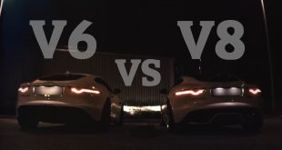 video sound battle jaguar f type 310x165 Video: Sound Battle   Jaguar F Type V8 R gegen V6