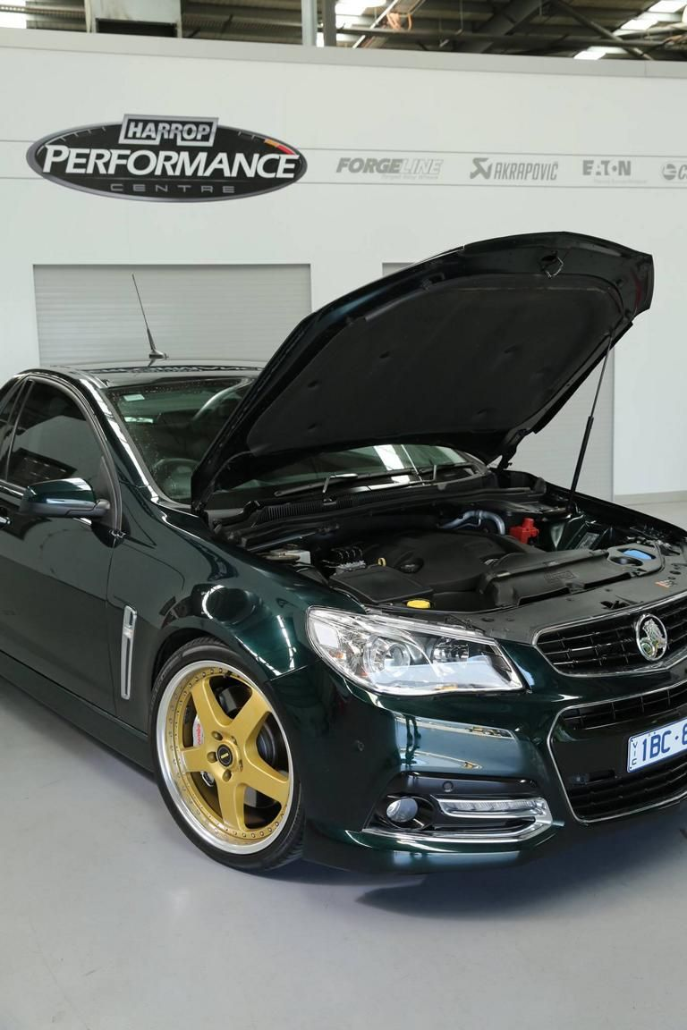 Holden Ute SS VF with 437PS by Harrop Engineering