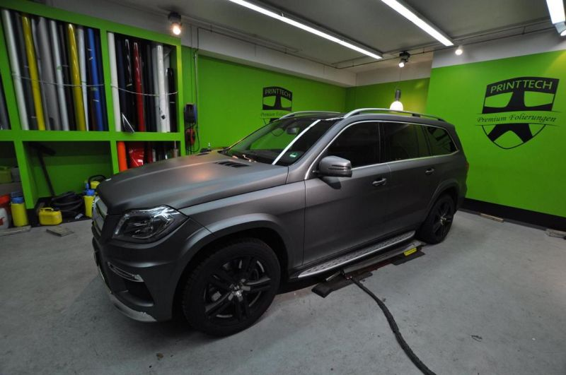 12291787 1073635229337192 4115410370003828859 o Print Tech   Mercedes Benz GL in centurion Grau Metallic