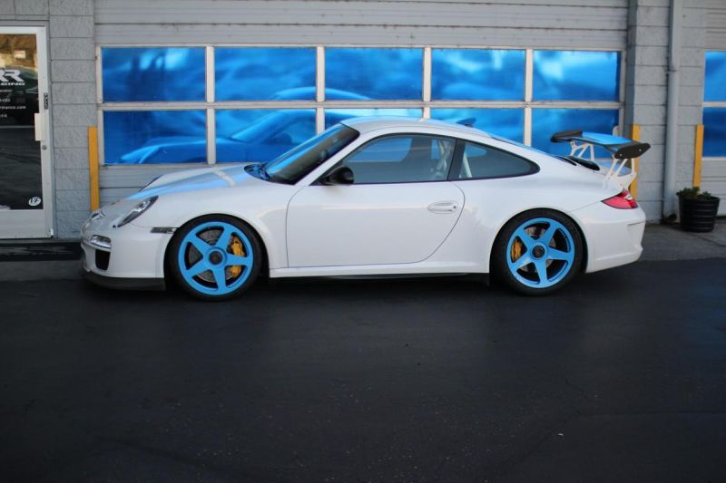 12307571 10153694061971698 206337671039786239 o Hellblaue HRE Performance Wheels am Porsche 911