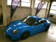 12314065 1106221792721866 2748780185122251533 n 190x143 Porsche 911 (996) Turbo Folierung in Rivierablue by 2M Designs