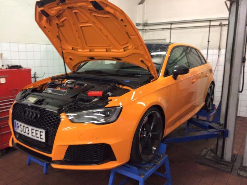 12341287 1174831239212841 3239965810483804462 n Audi A3 RS3 8V mit MTM Power & H&R by QSTuning