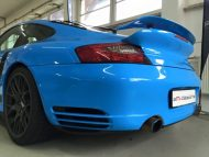 12342701 1106220869388625 5409934209945935079 n 190x143 Porsche 911 (996) Turbo Folierung in Rivierablue by 2M Designs