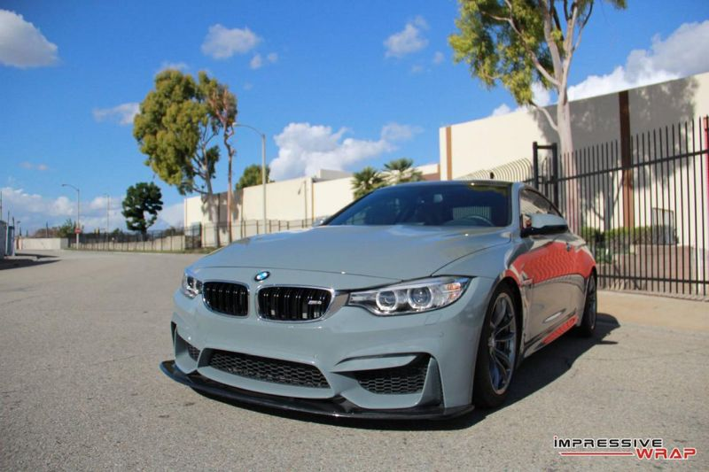 12356770 1078016272219057 7388842728515467462 o Dolphin Grey am BMW M4 F82 by Impressive Wrap