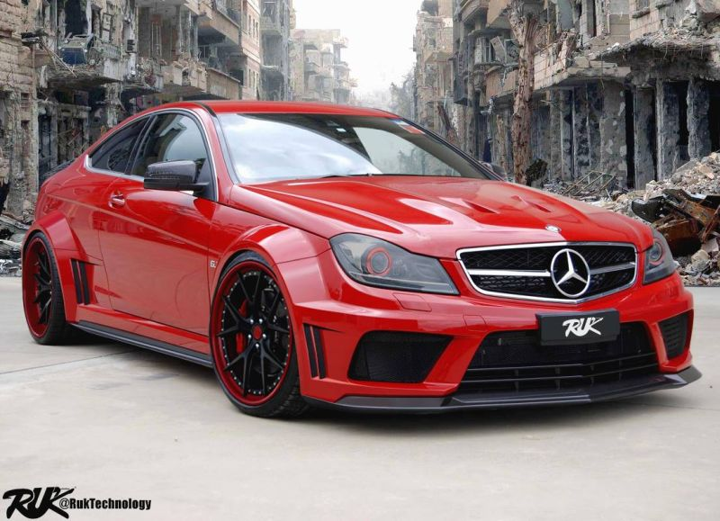 12378124 10153877315996392 7168798669524377959 o Fett   R.U.K Technology Mercedes C63 AMG Black Edition Coupe