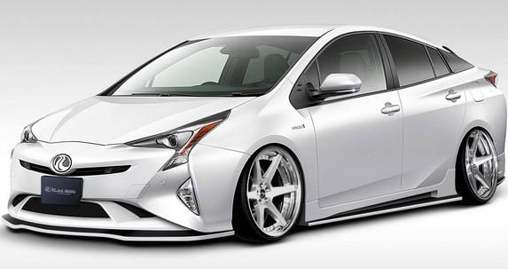 rendering kuhl racing vorschau vom toyota prius. Black Bedroom Furniture Sets. Home Design Ideas