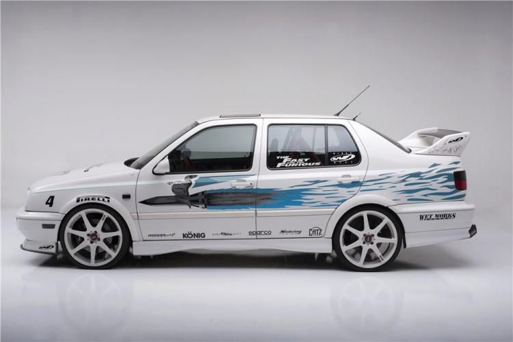 "189640 Rear 3 4 Web tuning car 2 zu verkaufen: VW Jetta aus ""The Fast and the Furious"""