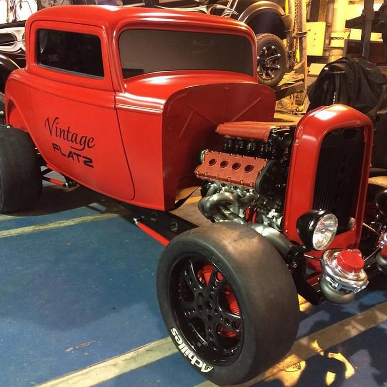1932 ford with ferrari twin turbo v8 somehow tuning car 9 Fotostory: 1932er Ford mit Ferrari Bi Turbo V8