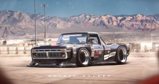 1970s ford f series with toyota ae86 n2 wide body kit should be ken blocks new hoonicorn 102657 1 310x165 Rendering: Ultra fett   Widebody 1970er Ford F Series