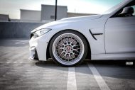 Alpine White BMW F80 M3 With A Few Aftermarket Parts 8 190x127 ModAuto tunt den BMW M3 F80 in Alpineweiß