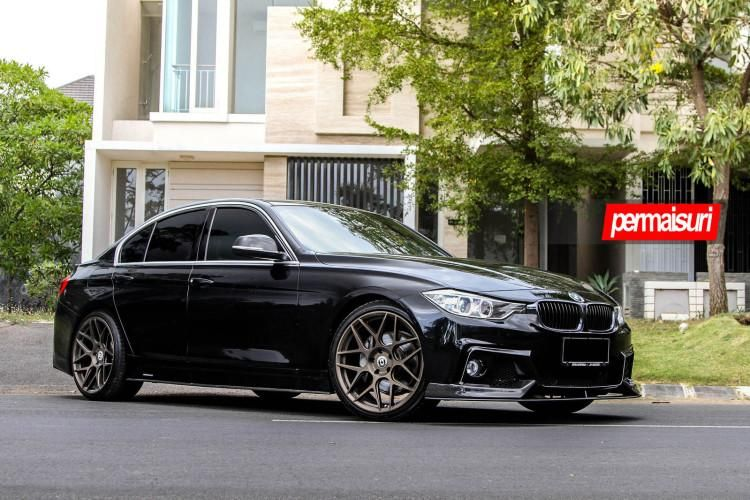BMW 335i with HRE FF01 Wheels 1 tuning car 2 Permaisuri Tuning am BMW F30 335i mit HRE Alu's
