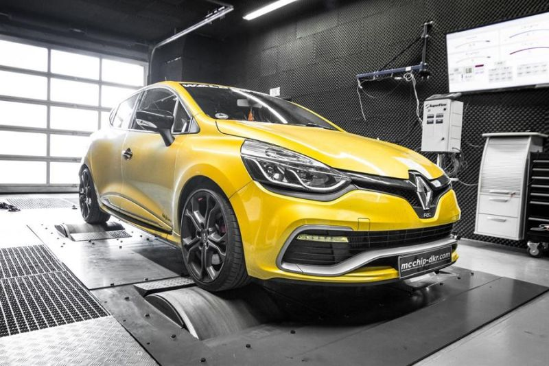 Chiptuning Mcchip-DKR Renault Clio RS 1.6 Turbo 4