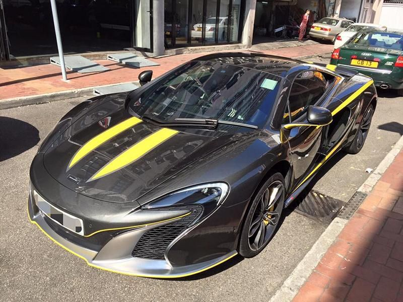 Custom McLaren 650S 1 tuning car 2 Dezenter Style   McLaren 650S by Impressive Wrap