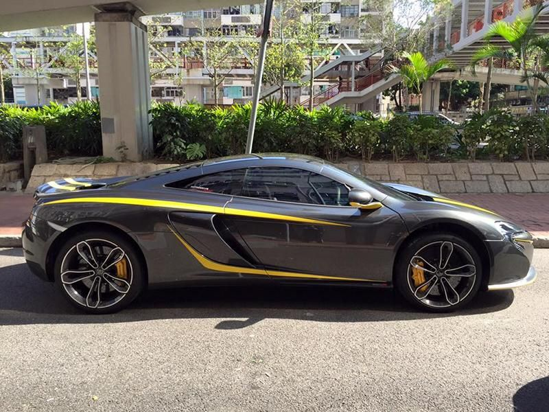 Custom McLaren 650S 1 tuning car 4 Dezenter Style   McLaren 650S by Impressive Wrap