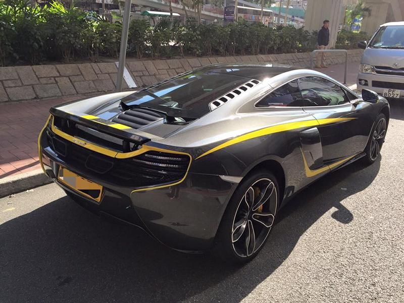 Custom McLaren 650S 1 tuning car 8 Dezenter Style   McLaren 650S by Impressive Wrap