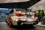 Garage Eve.ryn Bodykit EVO30.1 BMW F30 Tuning Chrom Wrap Folierung 13 190x127 Garage Eve.ryn   Brutalo EVO30.1 Bodykit am BMW 320d