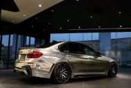 Garage Eve.ryn Bodykit EVO30.1 BMW F30 Tuning Chrom Wrap Folierung 25 190x127 Garage Eve.ryn   Brutalo EVO30.1 Bodykit am BMW 320d