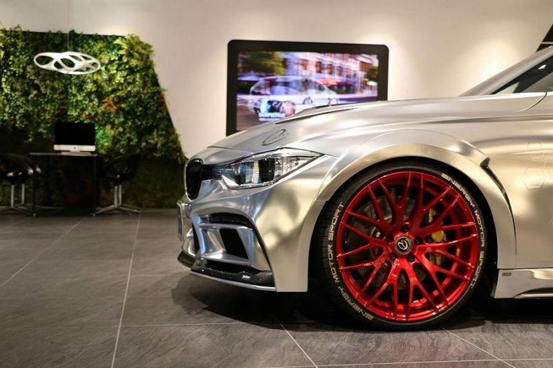 Garage Eve.ryn - Bodykit EVO30.1 BMW F30 Tuning Chrom Wrap Folierung (8)