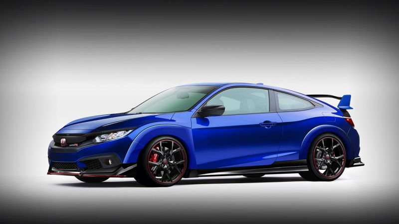Honda Civic Type R Coupe2 1 Rendering: X Tomi Design Honda Civic Type R Coupe