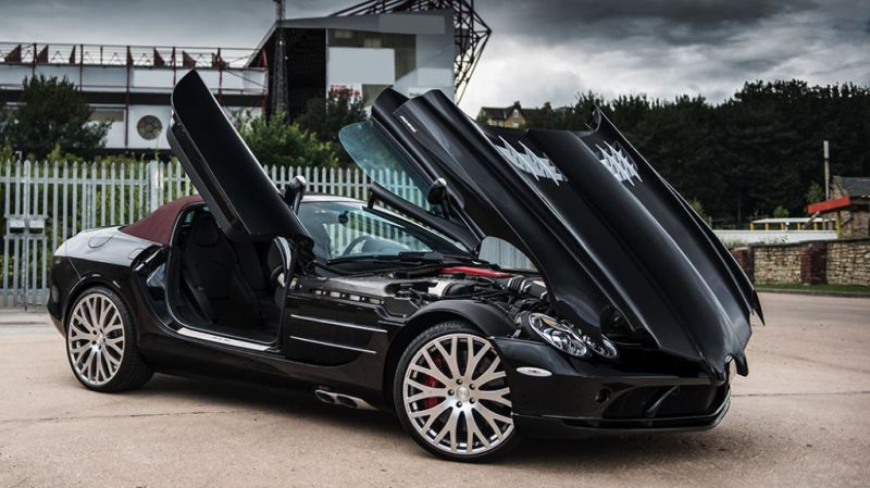 Kahn SLR Roadster sale 2015 8 Fotostory: Brabus Mercedes Benz SLR Roadster in Royal Blue