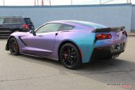 Lavender Turquoise Corvette Stingray impressive wrap 10 190x127 Chevrolet Corvette Stingray C7 Z06 in Lavendel by Impressive Wrap