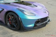 Lavender Turquoise Corvette Stingray impressive wrap 14 190x127 Chevrolet Corvette Stingray C7 Z06 in Lavendel by Impressive Wrap