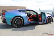 Lavender Turquoise Corvette Stingray impressive wrap 15 190x127 Chevrolet Corvette Stingray C7 Z06 in Lavendel by Impressive Wrap