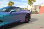 Lavender Turquoise Corvette Stingray impressive wrap 7 190x127 Chevrolet Corvette Stingray C7 Z06 in Lavendel by Impressive Wrap