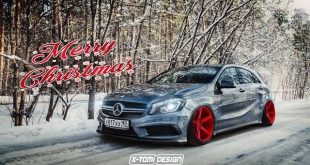 MB A mercedes x tomi design.1 310x165 Hammer   Bulliger Mercedes A45 AMG by X Tomi Design