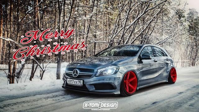MB A mercedes x tomi design.1 Hammer   Bulliger Mercedes A45 AMG by X Tomi Design