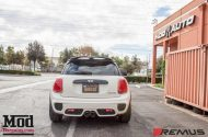 Mini F56 Cooper S Remus Exhaust tuning 1 190x125 Video: BMW Mini Cooper S mit Remus Sportauspuff
