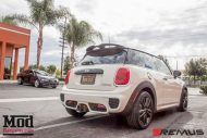 Mini F56 Cooper S Remus Exhaust tuning 4 190x127 Video: BMW Mini Cooper S mit Remus Sportauspuff