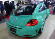 OSAKA AUTO MESSE 2015 298   Volkswagen The Beetle RSR Alpil Complete Package 190x136 VW Beetle RSR Widebody von Alpil in Türkis