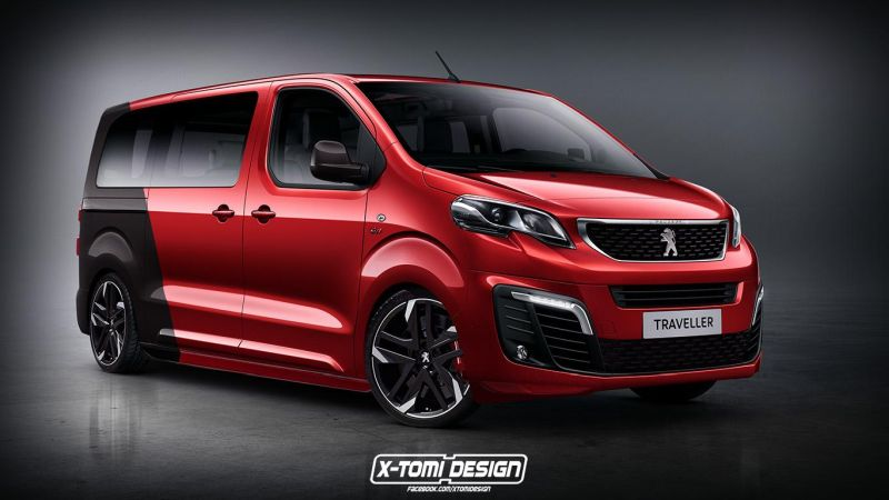 Peugeot Traveller GTi 2 1 Potenter Bus   Peugeot Traveller GTi by X Tomi Design