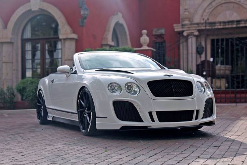 Prior Design Bentley GTC tuning car 1 Prior Design Bentley GTC   dezent geht anders