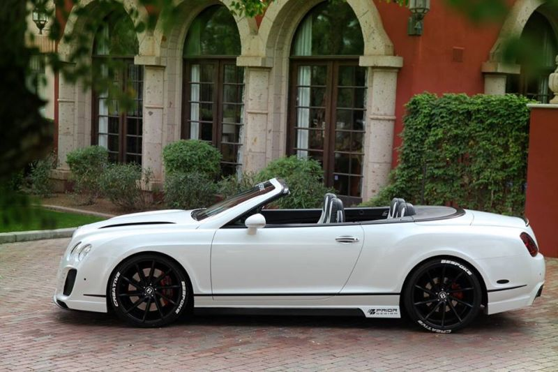 Prior Design Bentley GTC tuning car 2 Prior Design Bentley GTC   dezent geht anders