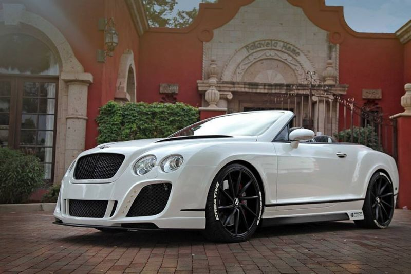 Prior Design Bentley GTC tuning car 3 Prior Design Bentley GTC   dezent geht anders
