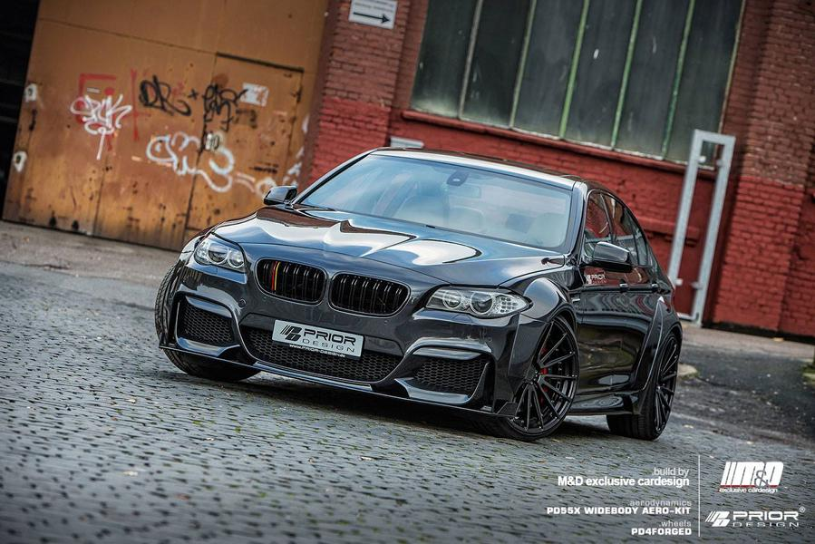 Prior Design PD55X BMW 5er F10 Tuning Widebody Prior Design PD5XXF10 Bodykit am BMW M5