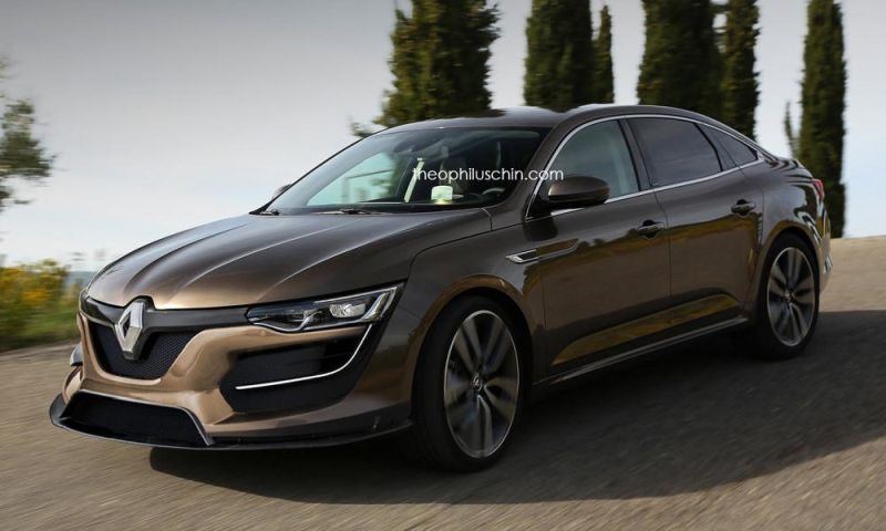rendering renault talisman rs by theophilus chin. Black Bedroom Furniture Sets. Home Design Ideas