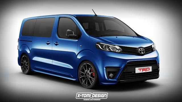 Toyota Proace TRD2 1 Rendering: X Tomi Design Toyota Proace TRD