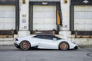 adv1 lambo white huracan tuning wheels 8 190x126 21 Zoll ADV5.2 Wheels am Lamborghini Huracan in Weiß