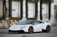 adv1 lambo white huracan tuning wheels 9 190x126 21 Zoll ADV5.2 Wheels am Lamborghini Huracan in Weiß
