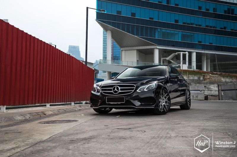 e400bc 13 tuning bc forged e400 1 Mercedes Benz E400 AMG Line auf BC Forged Wheels
